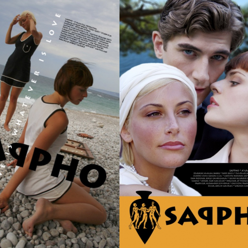 Sappho posters design