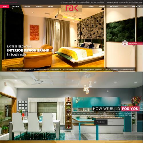 Web Design for Interior Design Company