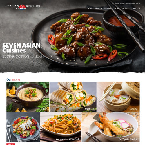 Website for a Restaurants
