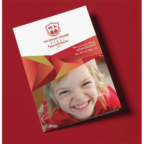 Brochure design for The English College