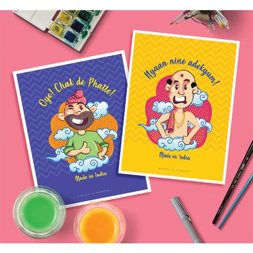 Postcard Design and Illustration