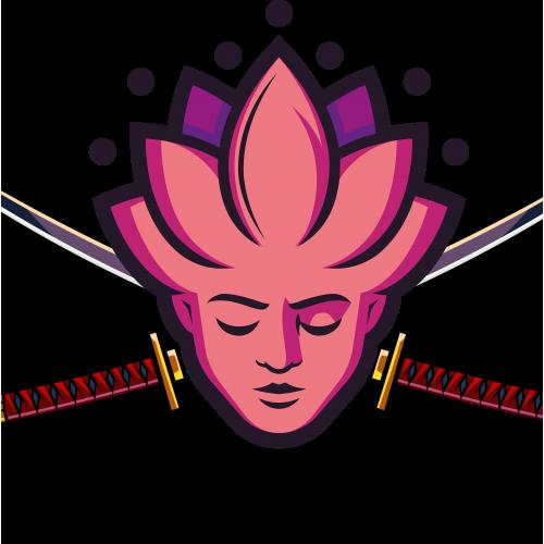 Logotipo salon de yoga