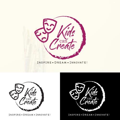 Kids can Create Logo Design