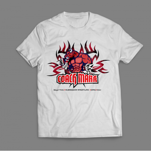 Personal Trainer Branded Tshirt Design