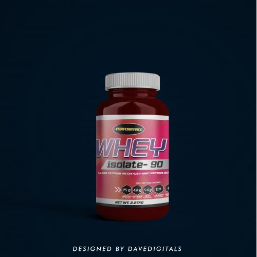 Nutrition Supplement Label