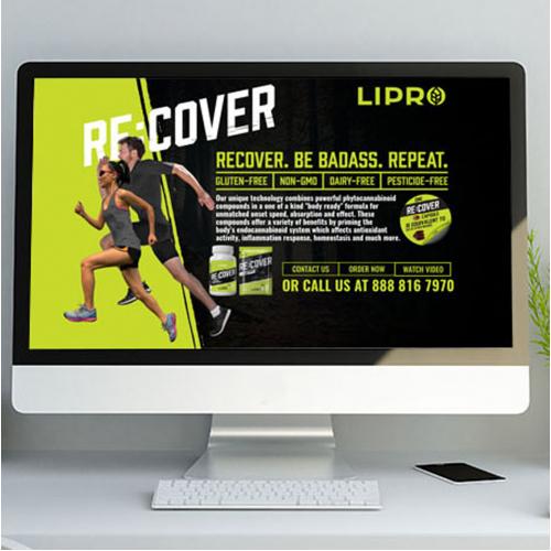 Re-Cover site design