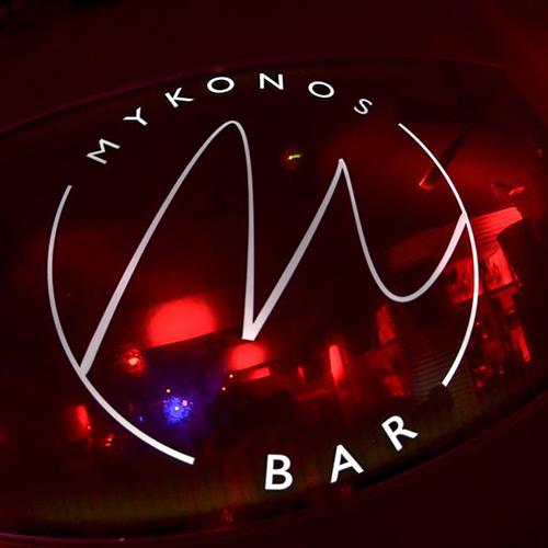 Logo design for Mykonos Bar