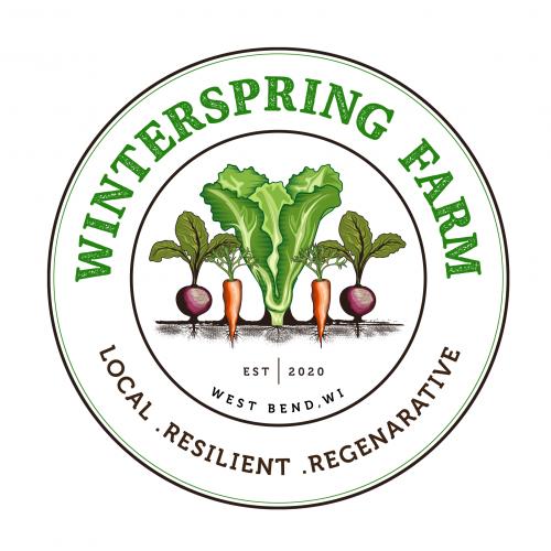 Logo for a Organic farm