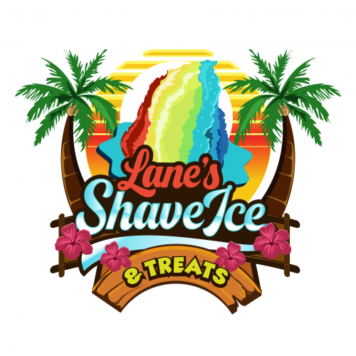 Logo for  a Shaved ice cream business