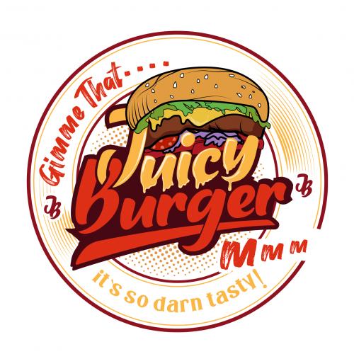 Logo for a Burger shop