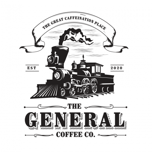 Logo for a coffee business