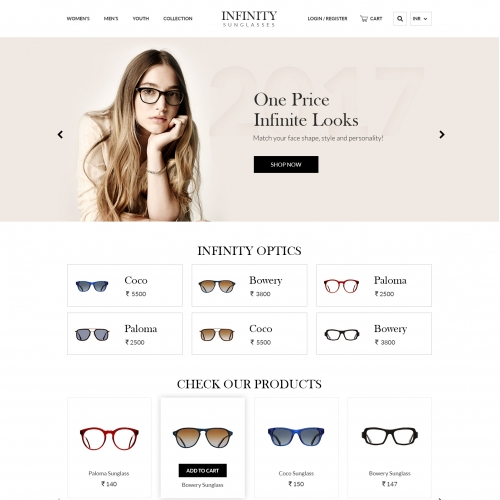 Sunglasses theme