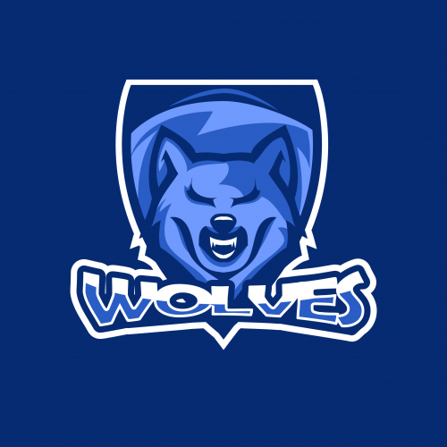 Wolves Esport and Gaming Logo