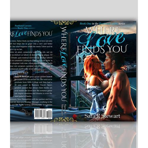 Where Love Finds You Book Cover Design
