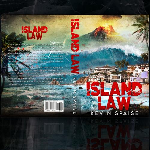Island Law Book Cover Design