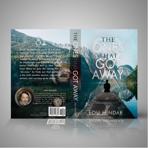Lou Mindar Book Cover Design