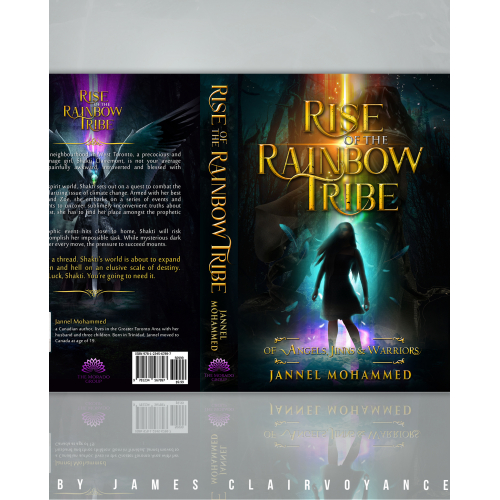Rise of the Rainbow Tribe Cover Design