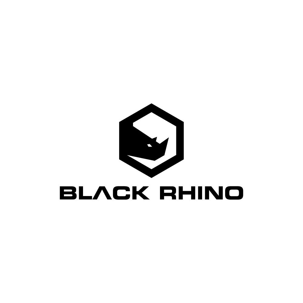Black Rhino logo design