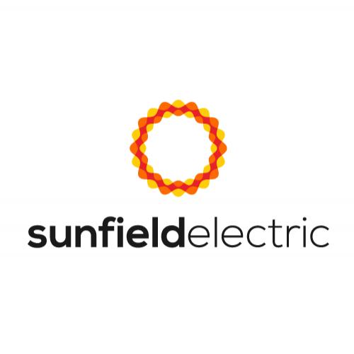 Logo design concept for Sunfield Electric Inc.