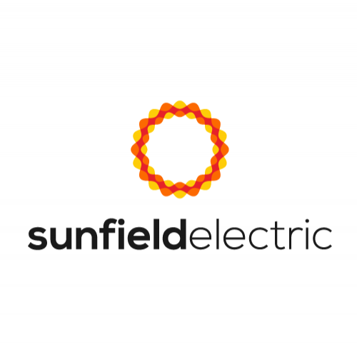 Logo design concept for Sunfield Electric Inc.