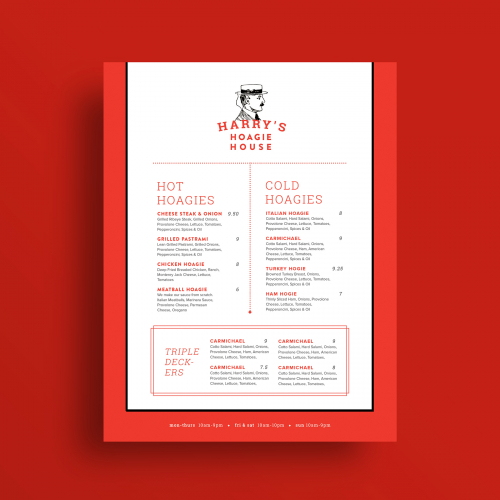 Fun Eatery Menu Design