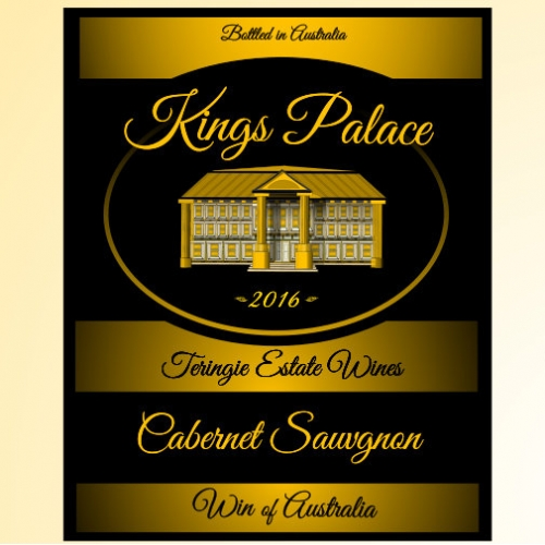 Kings Palace Wine label