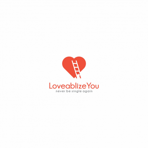 logo Design love and stairs