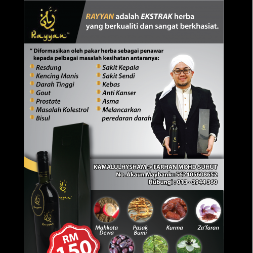 Flyers for UKH Global SDN.BHD