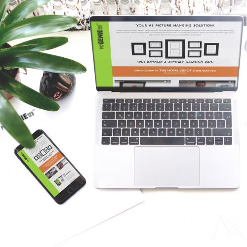 PicGenie123 Website Design