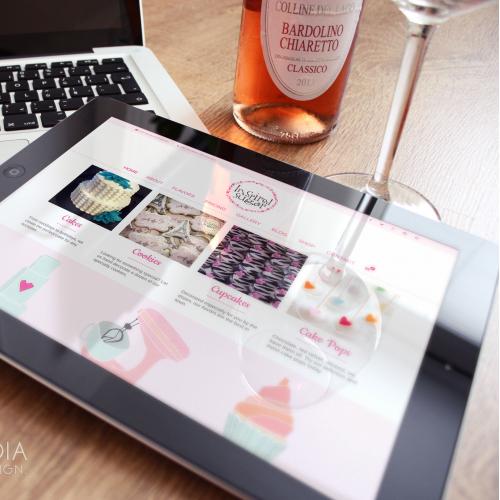 Inspired Sugar Cakes Website Design