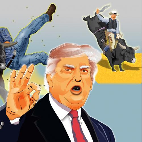 Donald Trump acts