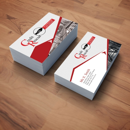Credit Rescue Business Cards