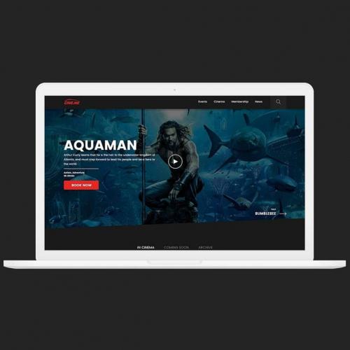 Cine.me website