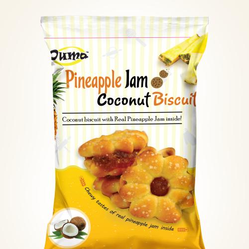 pineapple biscut package