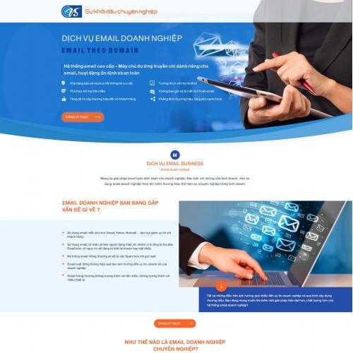 Landing page VSmail