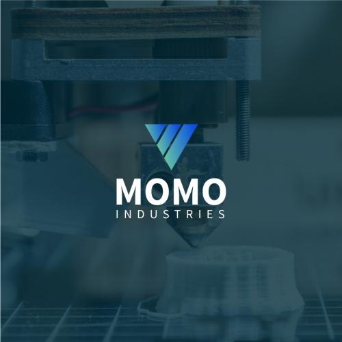 Momo Industries Logo Concept