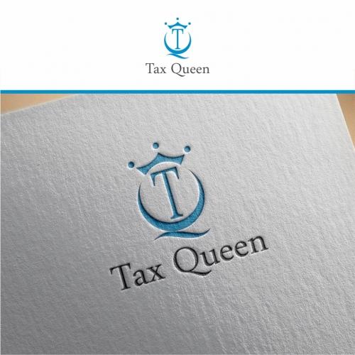 Tax Queen Logo Design