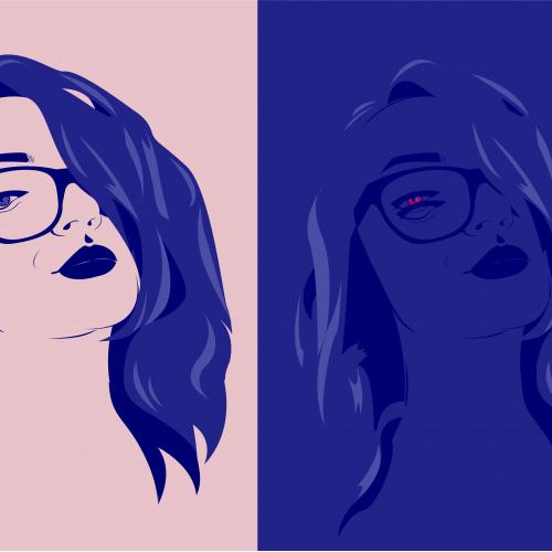 Auto- illustration