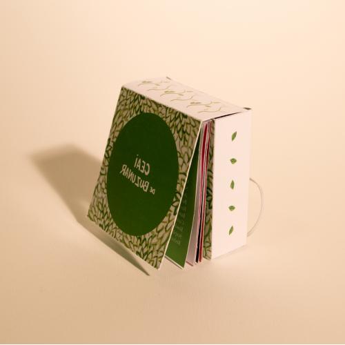 Object book- tea sampling book