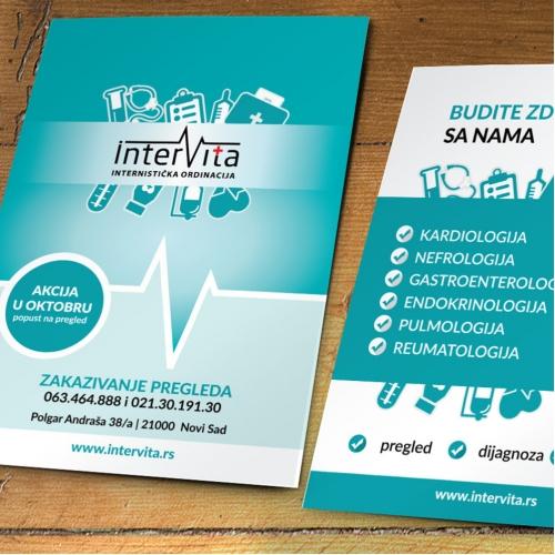 Intervita flyer design