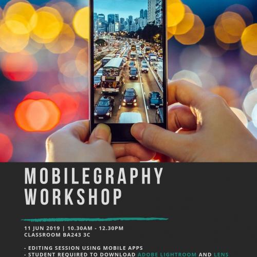 mobilegraphy workshop poster