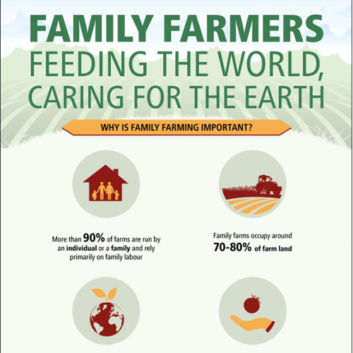 FAO - Family Farming infographic
