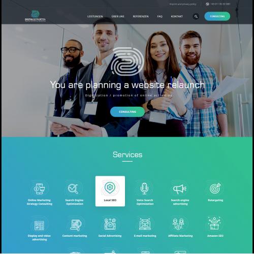 design situs web
