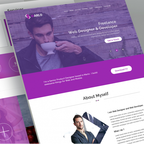 Marlo -Landing PAGE
