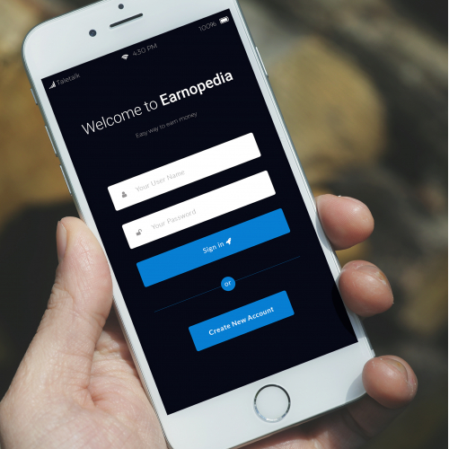 Earnopedia Mobile Apps Design