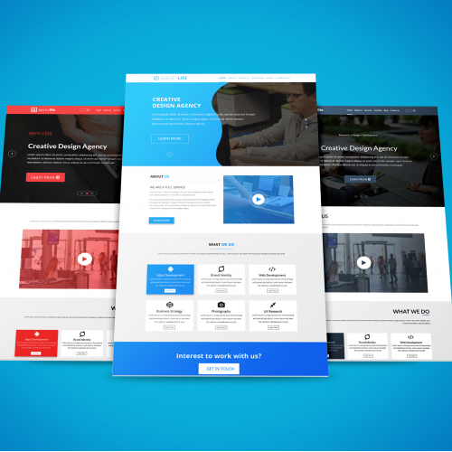 Agency Lite Landing Page