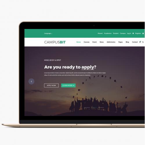 University Web Page Design