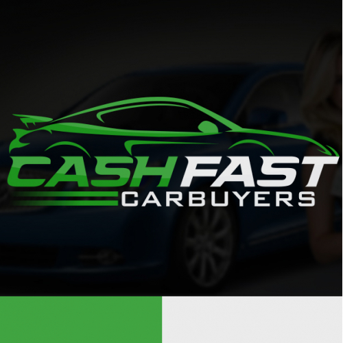 Cash Fast Car Buyers Logo Design