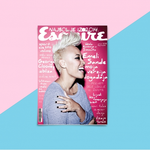 Esquire - Magazine cover and layout design