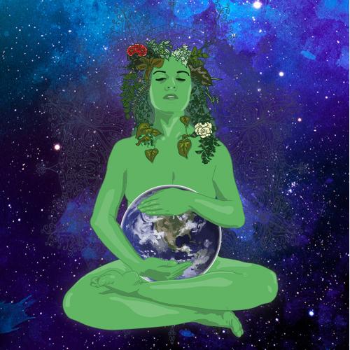 Gaia - The Earth Goddess